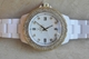 Toy Watch White Plasteramic Gold Crystal Bezel