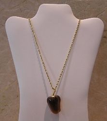 Kenneth Jay Lane Brown Pepper Necklace