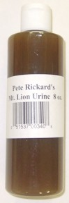 Mount Lion Urine 8 oz.