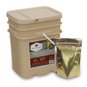 Wise 120 Serving Veggie Grab And Go Bucket