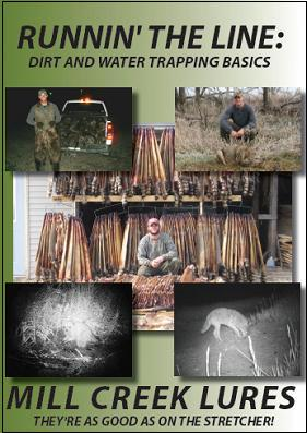 Runnin the Line: Dirt and Water Trappin Basics - DVD