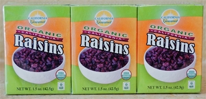 Organic vs. Natural Raisins