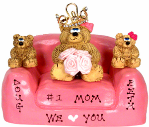 Personalized Mothers Day Gift for Family of 3