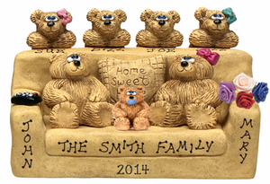 Personalized Mothers Day Gift for Family of 6