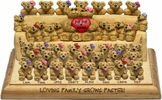 39-to-42-Bear Bunch for Couples, Design A
