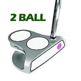 Odyssey Ladies Divine 2-Ball Putter