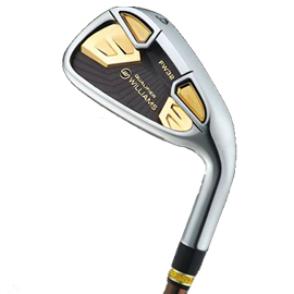 Williams Sports Mens Gold Series FW32 Qualifier Irons 4-PW, SW