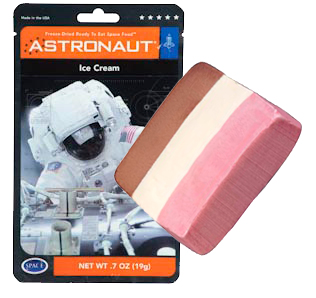 astronaut ice cream in space - photo #15