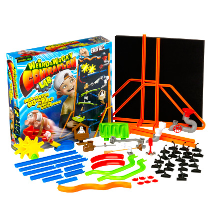 Weird and Wacky Contraption Lab Marble Roller