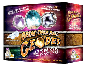 Ultimate Break Open Real Geodes Kit
