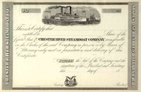 Chester River Steamboat Co Stock 18__