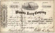 Wiggins Ferry Stock 1876