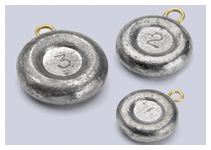Bullet Weights Disc Sinkers