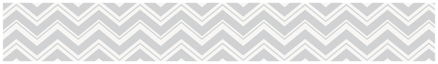 Zig Zag Wallpaper Border For Turquoise And Gray Bedding