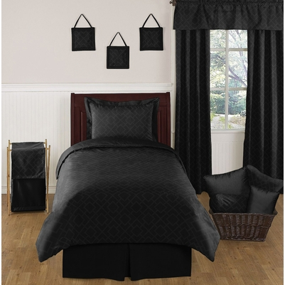 diamond black twin bedding collection