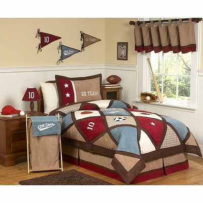 All Star Sports Twin Bedding Collection