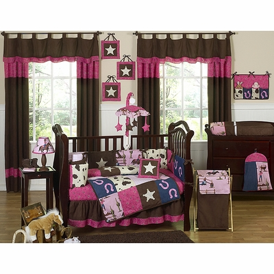 Cowgirl Crib Bedding Collection