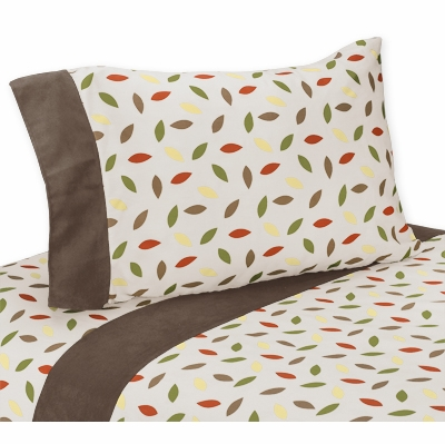 Forest Friends Queen Sheet Set