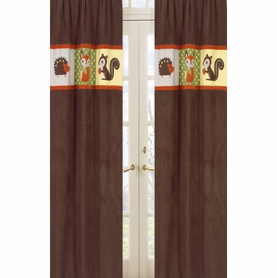 Forest Friends Window Panels - Set of 2