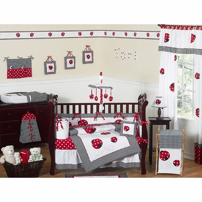 Little Ladybug Crib Bedding Collection