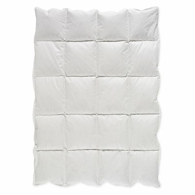 White Baby Down Alternative Comforter / Blanket