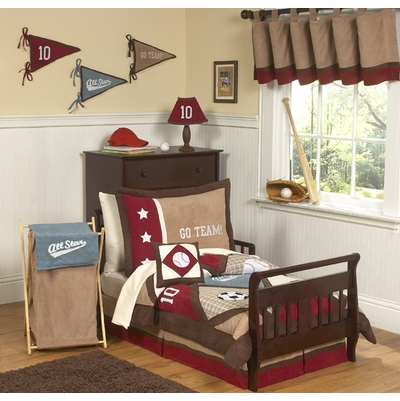 All Star Sports Toddler Bedding Collection