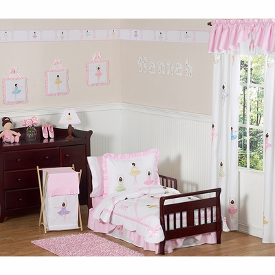 Ballerina Toddler Bedding Collection