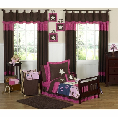 Cowgirl Toddler Bedding Collection