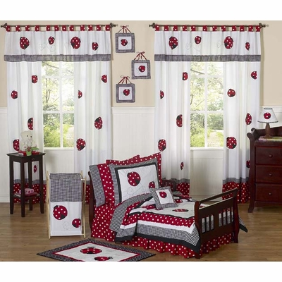 Little Ladybug Toddler Bedding Collection
