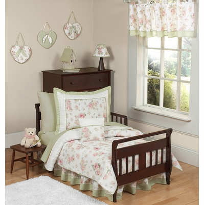 Riley's Roses Toddler Bedding Collection
