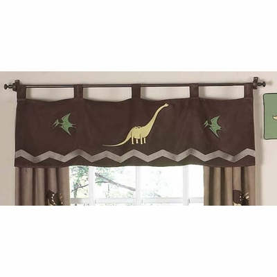 Dinosaur Land Window Valance