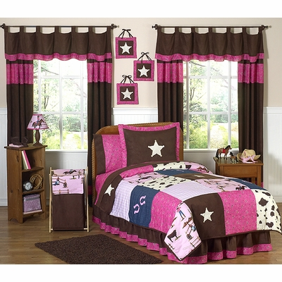 Cowgirl Twin Bedding Collection