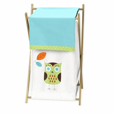 Hooty Turquoise and Lime Hamper