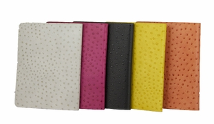 iPad Cover - Fine Leather Embossed Ostrich