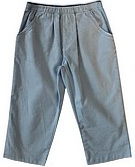 Bailey Boys Light Blue Corduroy Elastic Waist Pants 12M, 18M