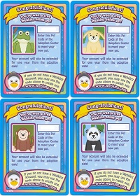 Webkinz RANDOM PET CODE from Webkinz Trading Cards Series 1 - Delivered by Fast and Free Email Delivery