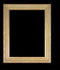 Art - Picture Frames - Oil Paintings & Watercolors - Frame Style #640 - 12x16 - Light Gold - Ornate Frames