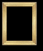 Art - Picture Frames - Oil Paintings & Watercolors - Frame Style #638 - 16x20 - Light Gold - Gold  Frames