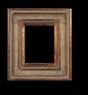 Art - Picture Frames - Oil Paintings & Watercolors - Frame Style #632 - 8x10 - Dark Gold - Ornate Frames
