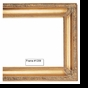 Picture Frames - Oil Paintings & Watercolors - Frame Style #1209 - 12X16 - Traditional Gold