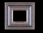 Art - Picture Frames - Oil Paintings & Watercolors - Frame Style #617 - 36x48 - Black & Gold - Black & Gold Frames