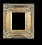 Art - Picture Frames - Oil Paintings & Watercolors - Frame Style #613 - 30x40 - Antique Gold - Ornate Verdigris Frames