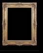 Art - Picture Frames - Oil Paintings & Watercolors - Frame Style #612 - 36x48 - Antique Gold - Ornate Baroque Frames