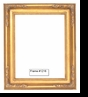 Picture Frames - Oil Paintings & Watercolors - Frame Style #1216 - 11X14 - Traditional Gold