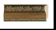 Custom Picture Frame Style #2007 - Ornate - Antique Gold Finish