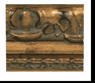 Custom Picture Frame Style #2023 - Ornate - Antique Gold Finish