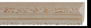 Custom Picture Frame Style #2028 - Ornate - Antique Gold Finish