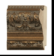 Custom Picture Frame Style #2033 - Ornate - Antique Gold Finish