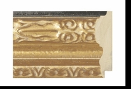 Custom Picture Frame Style #2044 - Ornate - Antique Gold Finish