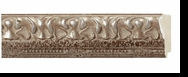 Custom Picture Frame Style #2057 - Ornate - Antique Silver Finish